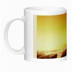 California Sea Ocean Pacific Night Luminous Mugs