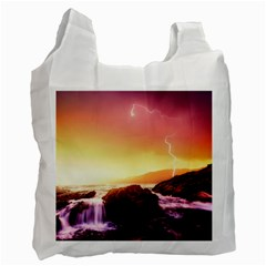 California Sea Ocean Pacific Recycle Bag (two Side)  by BangZart