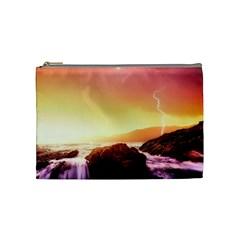California Sea Ocean Pacific Cosmetic Bag (medium)  by BangZart