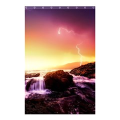 California Sea Ocean Pacific Shower Curtain 48  X 72  (small)