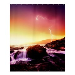 California Sea Ocean Pacific Shower Curtain 60  X 72  (medium)