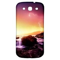 California Sea Ocean Pacific Samsung Galaxy S3 S Iii Classic Hardshell Back Case by BangZart