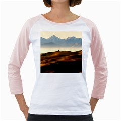 Landscape Mountains Nature Outdoors Girly Raglans
