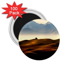 Landscape Mountains Nature Outdoors 2 25  Magnets (100 Pack)