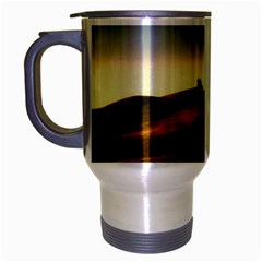 Landscape Mountains Nature Outdoors Travel Mug (silver Gray)