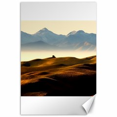 Landscape Mountains Nature Outdoors Canvas 24  X 36