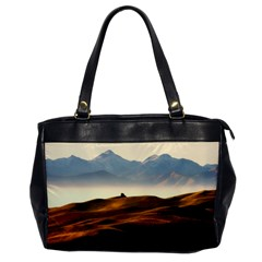 Landscape Mountains Nature Outdoors Office Handbags