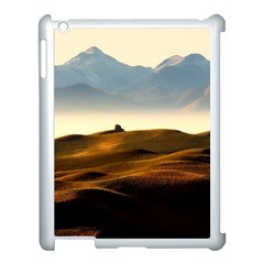 Landscape Mountains Nature Outdoors Apple Ipad 3/4 Case (white)