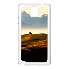 Landscape Mountains Nature Outdoors Samsung Galaxy Note 3 N9005 Case (white)