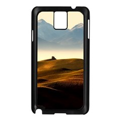 Landscape Mountains Nature Outdoors Samsung Galaxy Note 3 N9005 Case (black)