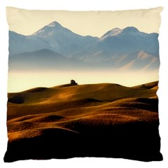 Landscape Mountains Nature Outdoors Standard Flano Cushion Case (two Sides)