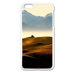 Landscape Mountains Nature Outdoors Apple Iphone 6 Plus/6s Plus Enamel White Case by BangZart