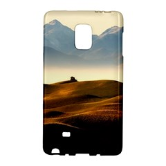 Landscape Mountains Nature Outdoors Galaxy Note Edge by BangZart