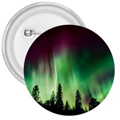 Aurora Borealis Northern Lights 3  Buttons