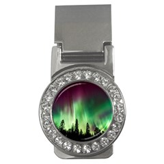 Aurora Borealis Northern Lights Money Clips (cz)