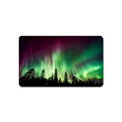 Aurora Borealis Northern Lights Magnet (name Card)