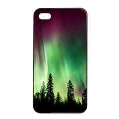 Aurora Borealis Northern Lights Apple Iphone 4/4s Seamless Case (black)