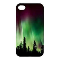 Aurora Borealis Northern Lights Apple Iphone 4/4s Premium Hardshell Case