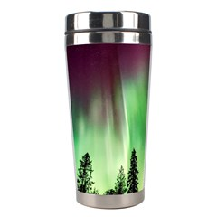 Aurora Borealis Northern Lights Stainless Steel Travel Tumblers