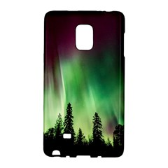 Aurora Borealis Northern Lights Galaxy Note Edge