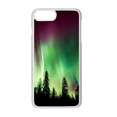 Aurora Borealis Northern Lights Apple Iphone 7 Plus Seamless Case (white) by BangZart