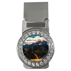 Italy Valley Canyon Mountains Sky Money Clips (cz)