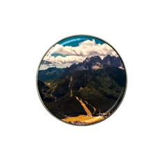 Italy Valley Canyon Mountains Sky Hat Clip Ball Marker (10 Pack) by BangZart