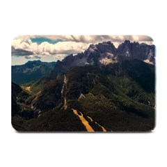 Italy Valley Canyon Mountains Sky Plate Mats by BangZart