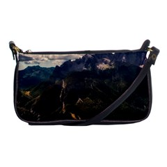 Italy Valley Canyon Mountains Sky Shoulder Clutch Bags