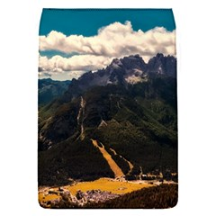 Italy Valley Canyon Mountains Sky Flap Covers (s)