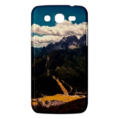 Italy Valley Canyon Mountains Sky Samsung Galaxy Mega 5 8 I9152 Hardshell Case  by BangZart