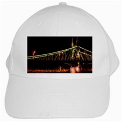 Budapest Hungary Liberty Bridge White Cap