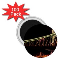 Budapest Hungary Liberty Bridge 1 75  Magnets (100 Pack)