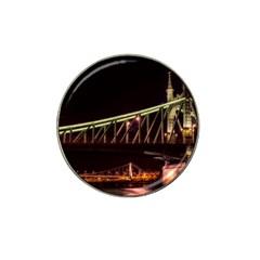 Budapest Hungary Liberty Bridge Hat Clip Ball Marker