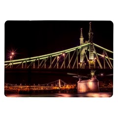 Budapest Hungary Liberty Bridge Samsung Galaxy Tab 10 1  P7500 Flip Case