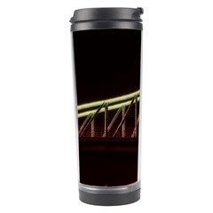 Budapest Hungary Liberty Bridge Travel Tumbler by BangZart