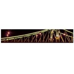 Budapest Hungary Liberty Bridge Large Flano Scarf
