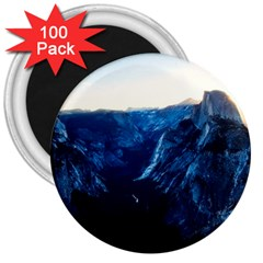 Yosemite National Park California 3  Magnets (100 Pack) by BangZart
