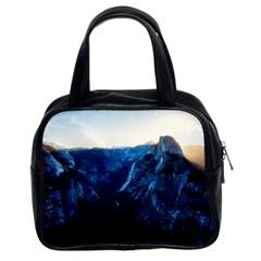 Yosemite National Park California Classic Handbags (2 Sides) by BangZart