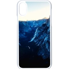 Yosemite National Park California Apple Iphone X Seamless Case (white)
