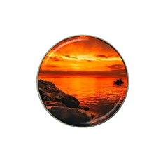 Alabama Sunset Dusk Boat Fishing Hat Clip Ball Marker