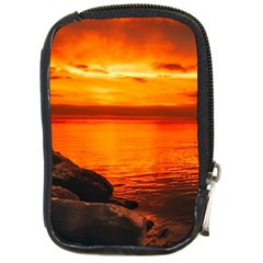 Alabama Sunset Dusk Boat Fishing Compact Camera Cases by BangZart