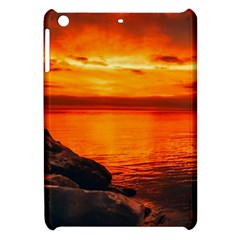 Alabama Sunset Dusk Boat Fishing Apple Ipad Mini Hardshell Case by BangZart