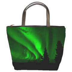 Aurora Borealis Northern Lights Bucket Bags