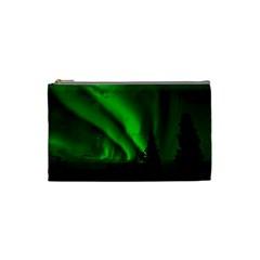 Aurora Borealis Northern Lights Cosmetic Bag (small)