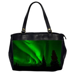 Aurora Borealis Northern Lights Office Handbags (2 Sides)