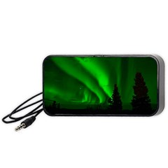 Aurora Borealis Northern Lights Portable Speaker