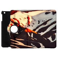 Iceland Landscape Mountains Snow Apple Ipad Mini Flip 360 Case