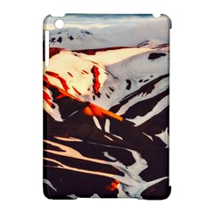 Iceland Landscape Mountains Snow Apple Ipad Mini Hardshell Case (compatible With Smart Cover) by BangZart
