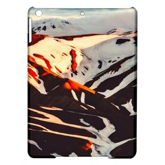 Iceland Landscape Mountains Snow Ipad Air Hardshell Cases